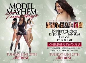 Model Mayhem Tuesdays