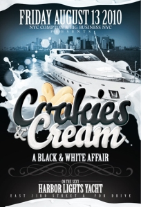 Cookies and Cream Summer Series Boat Ride Harbor Lights Friday August 13, 2010