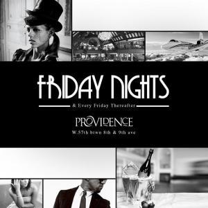 Friday Nights at Providence Friday October 8, 2010 NYC Manhattan